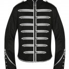 Black Parade Military Marching Banned Drummer Jacket Goth Punk