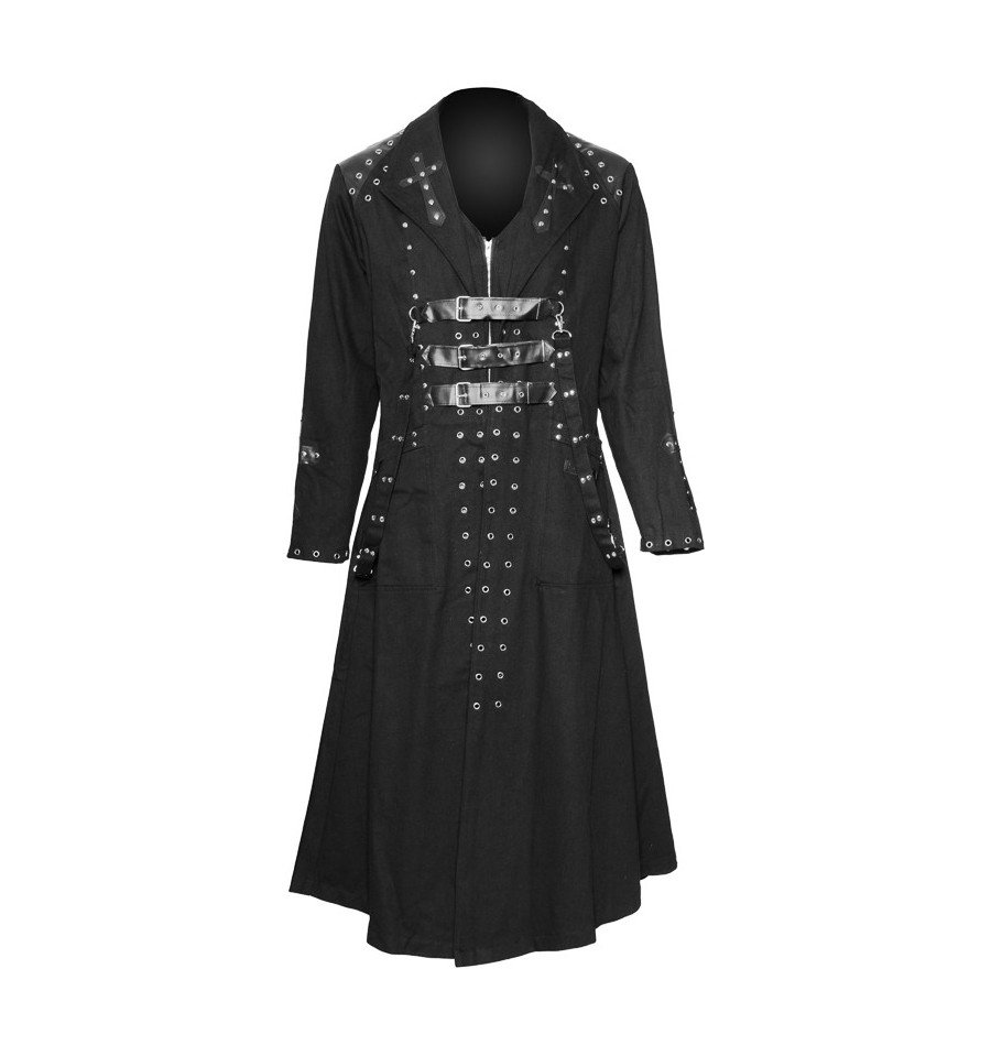 PVC Cross Men's Coat