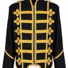 MEN MILITARY ARMY GOLD HUSSAR DRUMMER OFFICER MCR MUSIC FESTIVAL PARADE JACKET
