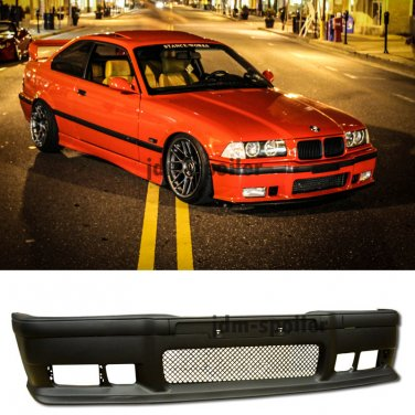 92-98 BMW E36 3-Series 2Dr M3 OE Style Front Bumper Cover Lower Lip Body Kit