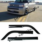 For 04-07 Scion xB Mugen Style Smoke Tint Side Window Visor Rain Guard Deflector