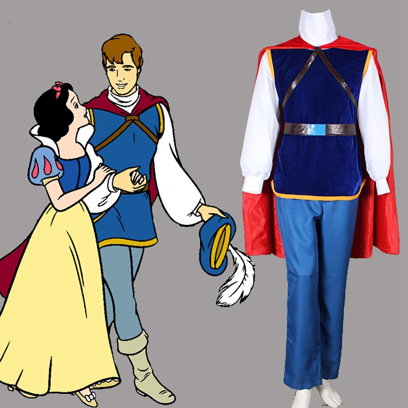 Prince Florian Cosplay Costume Snow White And The Seven Dwarfs Cosplay