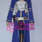 Sword Art Online Silica ALO Cait Sith Blue Anime Cosplay Costume game girl