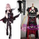 Lightning Returns:Final Fantasy XIII Lumina Lightning Returns cosplay costume black