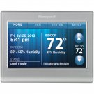 Honeywell Smart Thermostat, Wi-Fi, Touchscreen, Works with Amazon Alexa - Silver