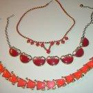 3 Vintage Chokers Necklaces
