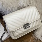 Beige Stylish Solid High Quality PU Cross-body Bag for Woman