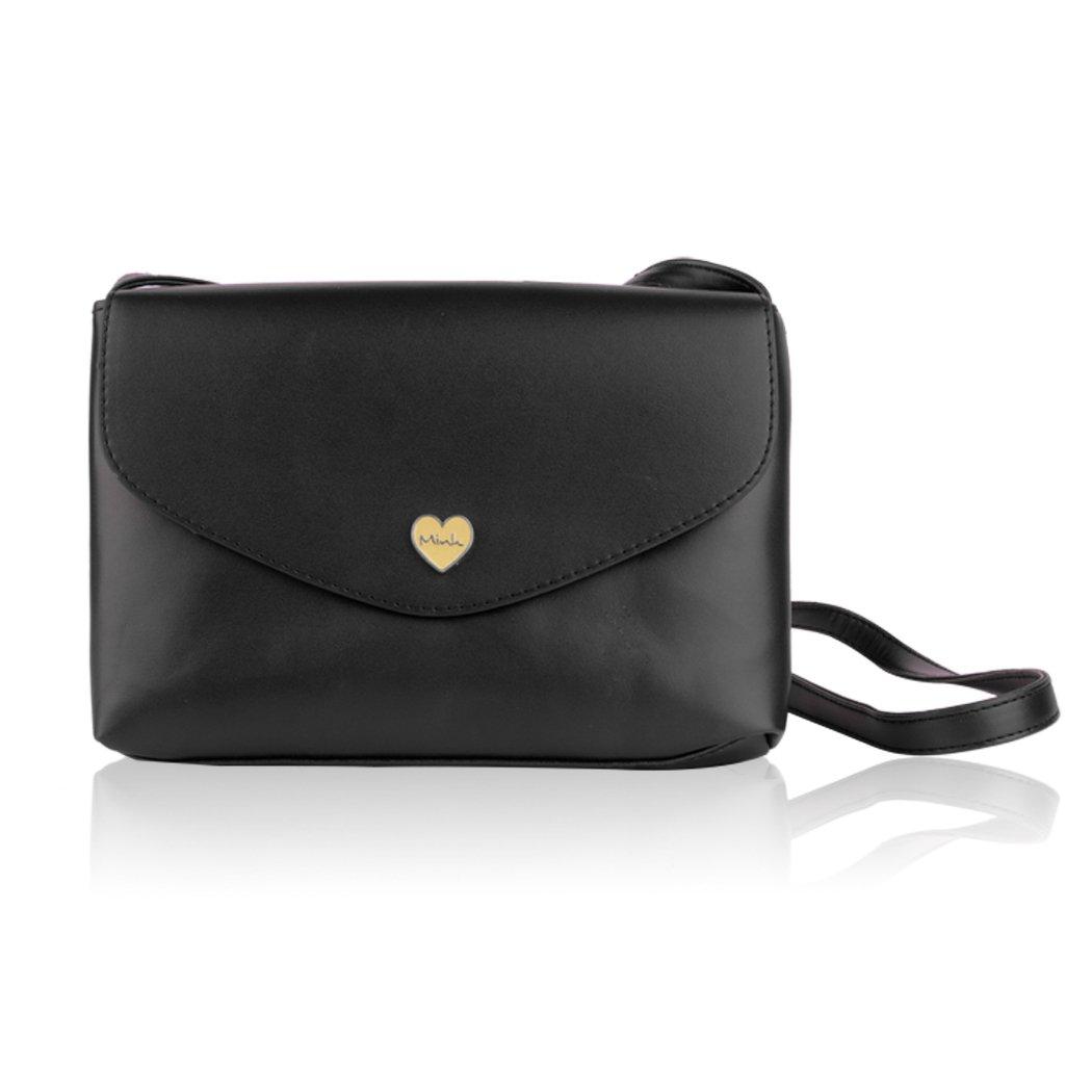 Black Vintage Shoulder Bag Messenger Bag Mini Small Versatile Bag