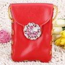 Red Leisure Messenger Shoulder Bag Cross Bag High Quality Bag