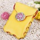 Yellow Leisure Messenger Shoulder Bag Cross Bag High Quality Bag