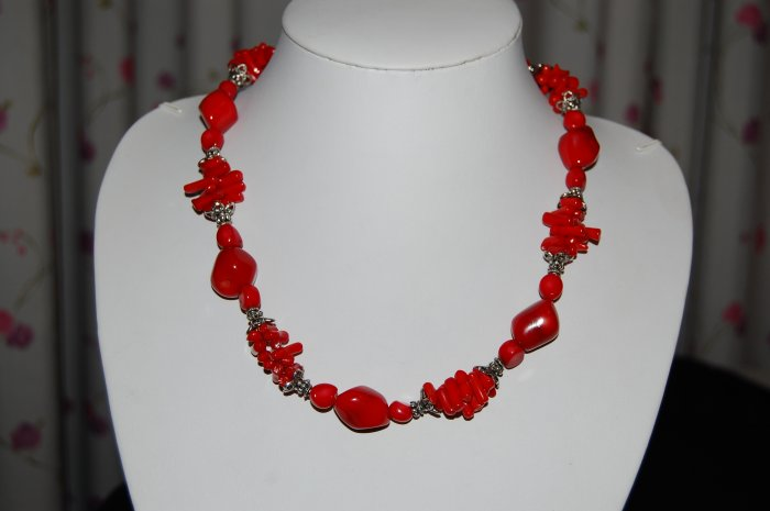 Coral Necklace N1151