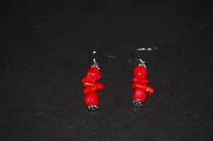 Coral Earrings E1151