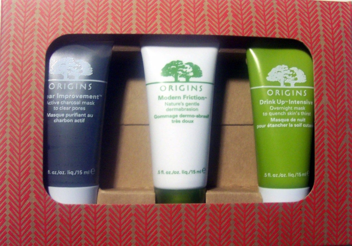 NIB Origins Task Maskers 3 products for flawless looking skin skincare hydrating