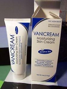New Vanicream Moisturizing Skin Cream for sensitive skin 4 oz NIB