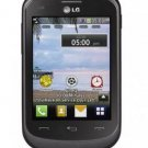 Refurbished LG 306G Black Prepaid Cellular Phone Straight Talk