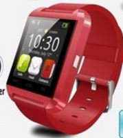 Red New U8 Bluetooth Smart Watch Phone Mate For Smart Phones