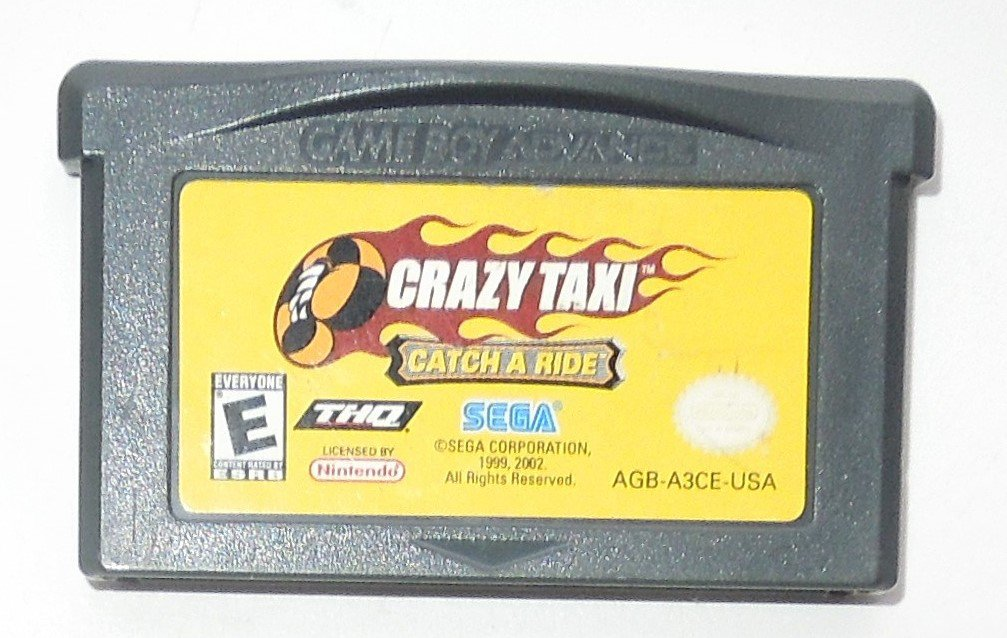 2003 Sega Crazy Taxi Catch A Ride For Game Boy Advance & Nintendo DS Game Only