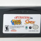 2005 DSI Games Operation/Mouse/Trap/Simon For Game Boy Advance & DS Game Only
