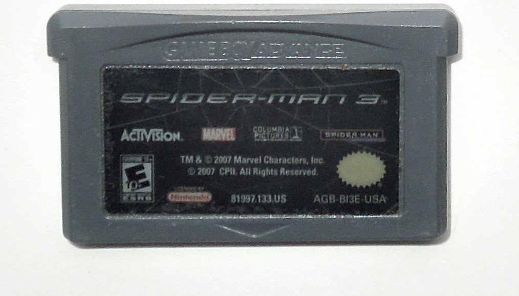 2007 Activision Spider-Man 3 For Game Boy Advance & Nintendo DS system Game Only