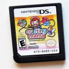 2010 Mejesco Crafting Mama For Nintendo DS systems Game Only