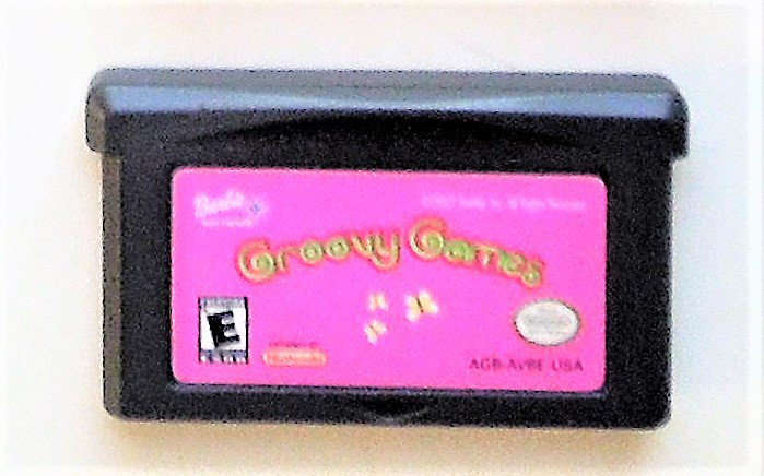 2002 Barbie: Groovy Games For Game Boy Advance & Nintendo DS systems Game