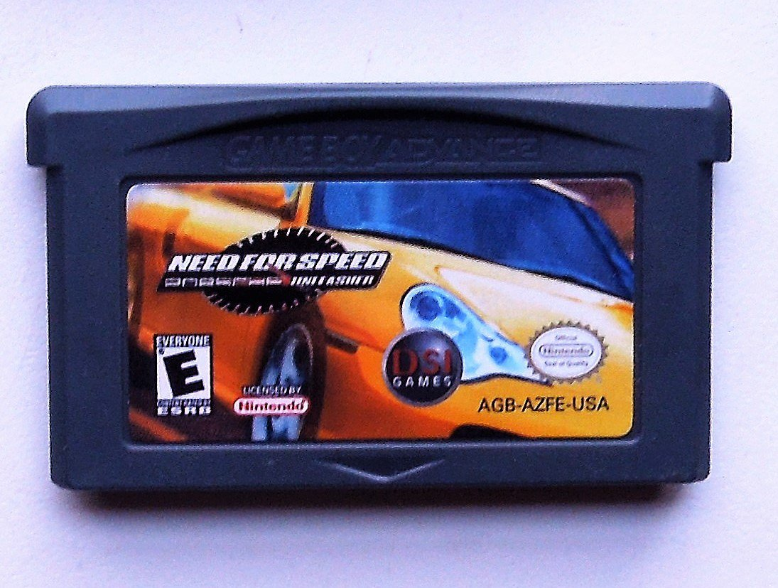 2004 DSI Games Need For Speed Porche Unleased For Game Boy Advance Game only