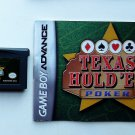 2004 Majesco Texas Hold 'Em For Game Boy Advance & Nintendo DS systems With Manual