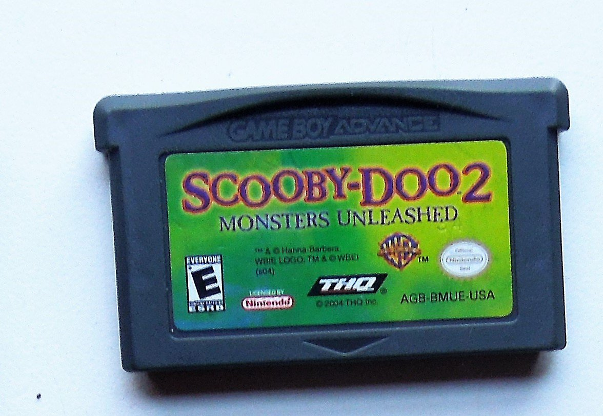 2004 THQ Scooby Doo 2 Monsters Unleashed For Game Boy Advance Game Only