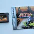 2006 DSI Games ATV Thunder Ridge Riders For Game Boy Advance system With Manual