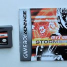 2006 THQ Alex Rider Stormbreaker For the Game Boy Advance Game system With Manual