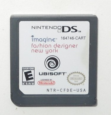 2008 Ubisoft Imagine Fashion Designer New York For Nintendo Ds Systems Game Only