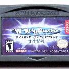 2001 Konami Yu Yu YaKusho Spirit Detective For Game Boy Advance & Nintendo DS