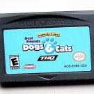 2001 THQ Paws & Claws Best Friends Dogs & Cats Game Boy Advance & Nintendo DS