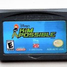 2002 Disney Interactive Kim Possible For the Game Boy Advance Game & Nintendo DS