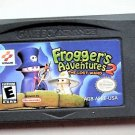 2002 Konami Frogger's Adventure 2 The Lost Wand For Game Boy Advance