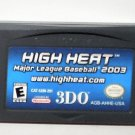 2003 3DO High Heat 2003 For Game Boy Advance & Nintendo DS Game systems