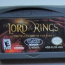2002 Black Label Lord Of The Rings Fellowship Of The Rings For Game Boy Advance