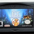2001 Newkidco E.T The Extra-Terrestrial For The Game Boy Advance & Nintendo DS