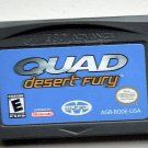 2003 Majesco Quad Desert Fury For Gameboy Advance & Nintendo DS