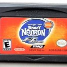 2003 THQ The Adventures Jimmy Neutron Boy Genius Jet Fusion Game Boy Advance