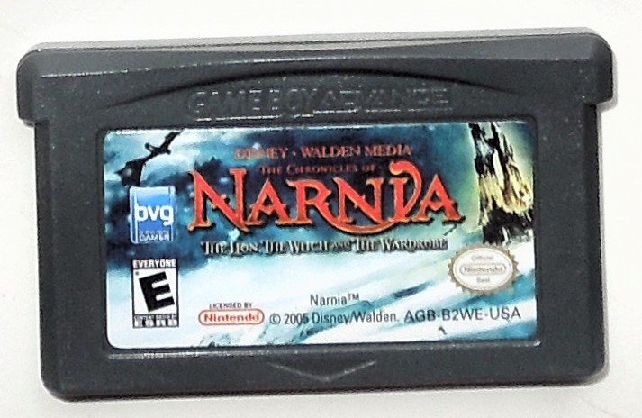 2005 Buena Vista The Chronicles Of Narnda For Game Boy Advance & Nintendo DS