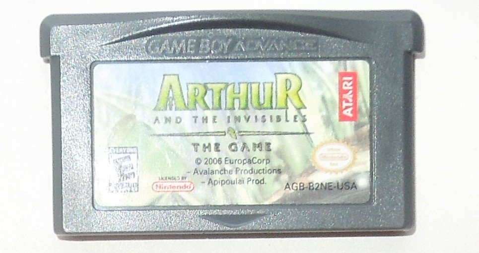 2006 Atari Arthur And The Invisibles The Game For Game Boy Advance & Nintendo DS