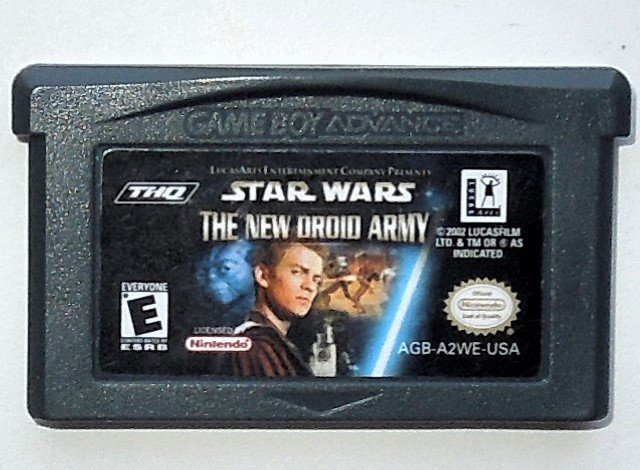 2002 THQ Star Wars The New Droid Army For Game Boy Advance & Nintendo DS Game