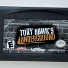 2003 Activision Tony Hawk's Underground For Game Boy Advance & Nintendo DS