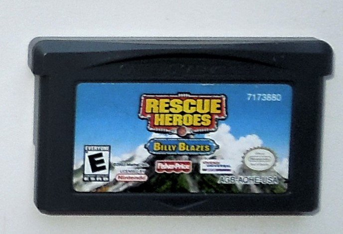 2003 Knowledge Adventure Rescue Heroes: Billy Blazes For Game Boy Advance