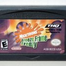 2004 THQ Nicktoons Freeze Frame Frenzy For Game Boy Advance & Nintendo DS