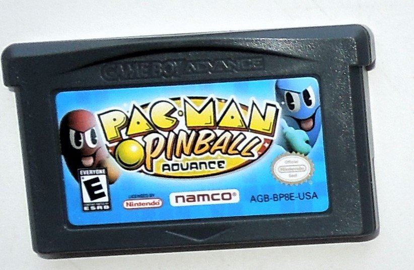 2005 Namco Pac-Man Pinball Advance For the Game Boy Advance & Nintendo DS