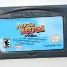 2006 Activision Over The Hedge For Game Boy Advance & Nintendo DS Game systems