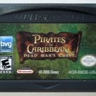 2006 Pirates Of The Caribbean Curse Of Dead Man's Chest For The Game Boy Advance