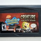2006 THQ Spongebob Squarepants Creature From The Krusty Krab Game Boy Advance